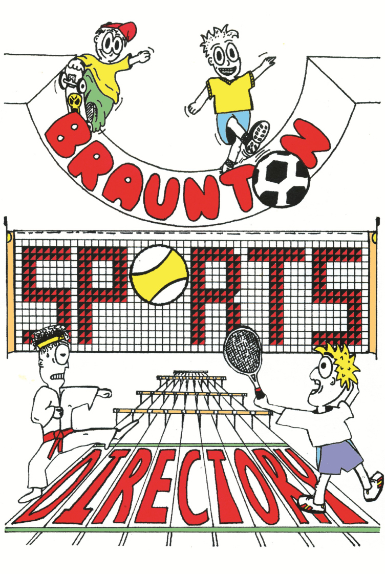 Braunton Sports Directory Cover